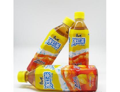 Холодный красный чай Бутылка Этикетка