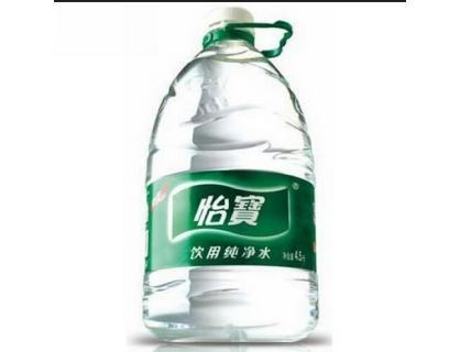 этикетки бутылки с водой